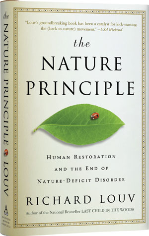 The Nature Principle, by Richard Louv - book cover