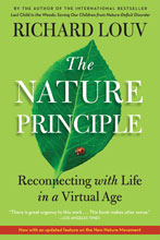 The Nature Principle by Richard Louv Paperback Cover Image