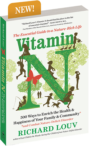Vitamin N, by Richard Louv - book cover
